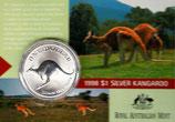 Australien - Känguru Royal Mint 1998 im Blister