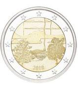 Finnland 2€ Gedenkmünze 2018 - Saunakultur