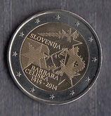 Slowenien 2€ Gedenkmünze 2014 - Barbara Celjska