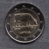 Lettland 2€ Gedenkmünze 2016 - Milchwirtschaft