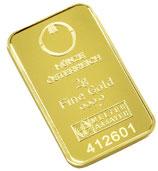Goldbarren 2 Gramm