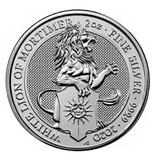 Großbritannien - Queens Beast Lion 2020 # 9