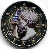 Griechenland 2€ 2013 - Plato koloriert B