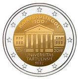Estland 2€ 2019 - Universität Tartu