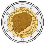 Portugal 2€ Gedenkmünze 2019 - 500 Jahre Weltumseglung