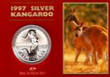 Australien - Känguru Royal Mint 1997 im Blister