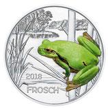 Tiertaler Frosch 2018 mit Folder