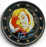 Finnland 2€ Gedenkmünze 2014 - Tove Jansson koloriert