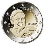 Deutschland 2€ Gedenkmünze 2018 - Helmut Schmidt