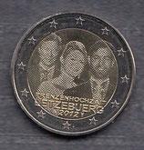 Luxemburg 2€ Gedenkmünze 2012 - Hochzeit