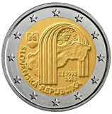 Slowakei 2€ Gedenkmünze 2018 -  25 Jahre Republik