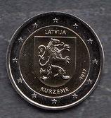 Lettland 2€ Gedenkmünze 2017 - Region Kurland