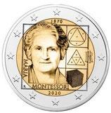 Italien 2€ 2020 - Maria Montessori