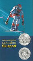5 € Silber hgh - 2005 Skisport 100 Jahre