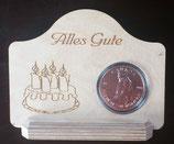 Ereignisse - Münzenständer aus Holz