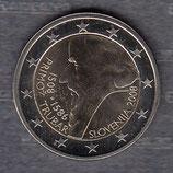Slowenien 2€Gedenkmünze 2008 - Primoz Trubar