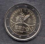 Italien 2€ Gedenkmünze 2015 - EXPO Mailand
