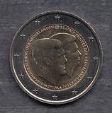 Niederlande 2€ Gedenkmünze 2014 - Doppelportrait