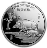 Round - China Lunar Schwein 2019