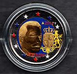 Luxemburg 2€ 2010 - Wappen koloriert B