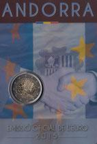 Andorra 2€ Gedenkmünze 2015 - Zollunion