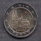 Deutschland 2€ Gedenkmünze 2011 - Kölner Dom