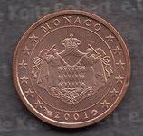 Monaco 2 Cent 2001