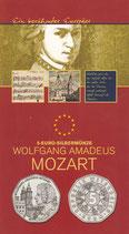 5 € Silber hgh - 2006 W.A.Mozart
