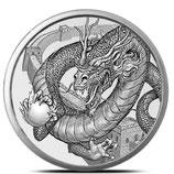 Round - Chinese Dragon