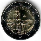 Litauen 2€ Gedenkmünze 2017 - Vilnius