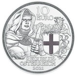 Österreich 10€ PP - Brüderlichkeit 2021