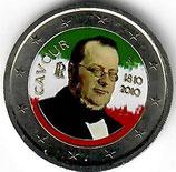 Italien 2 € 2010 - Benso koloriert B
