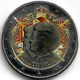 Niederlande 2€ 2013 - Doppelportrait koloriert
