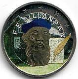 Finnland 2€ 2013 - Sillanpaa koloriert B