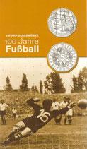 5 Euro Silber 2004 100 J. Fußball hgh