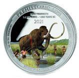 Kongo - Wollmammut 2021 coloriert