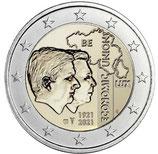 Belgien 2€ 2021 - Wirtschaftsunion Frankreich