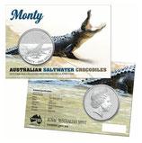 Australien - Salzwasserkrokodil Monty 2016