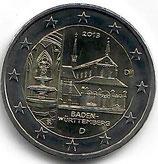 Deutschland 2€ Gedenkmünze 2013 - Kloster Maulbronn
