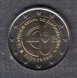 Slowakei 2 € Gedenkmünze 2014 - EU Beitritt