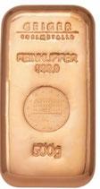 Geiger Kupferbarren 0,5 kg