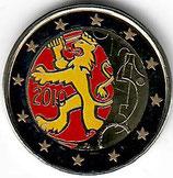 Finnland 2€ 2010 - 150 Jahre Währung kol. A