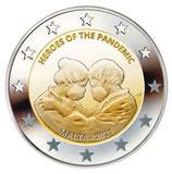 Malta 2€ 2021 - Helden der Pandemie