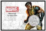 Tuvalu - Marvel Helden Wolverine 2021 Blister