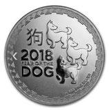 Niue - Lunar Hund 2018