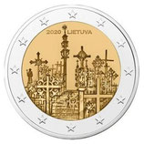 Litauen 2€ 2020 - Berg der Kreuze