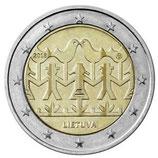 Litauen 2€ Gedenkmünze 2018 - Gesang und Tanzfestival
