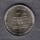 Deutschland 2€ 2017 - Rheinland Porta Nigra F