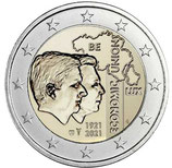 Belgien 2€ 2021 - Wirtschaftsunion Niederlande