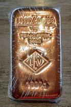 Leipziger Kupferbarren 1 kg